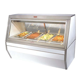 "Howard-McCray CHS35-4 - 50"" Display Case, Heated Display, Hot Food, (3) individual thermostatically controlled wells"
