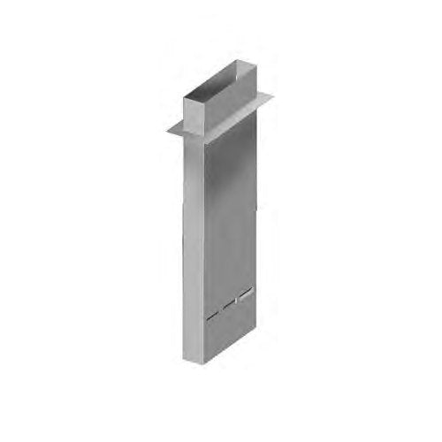 Eagle Group DVS-60 - Pant Leg Hood & Vent Duct, Mounts to Dishwasher, SpecAir™ Condensate Vent