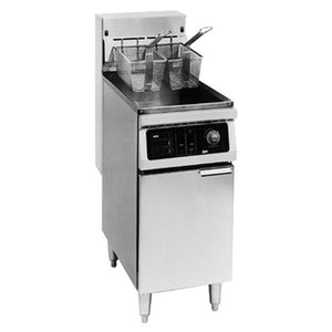 "Cecilware EFP-65 - 20"" Electric Fryer, Floor Model, 65lb."