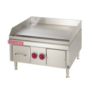"Cecilware EL1836 - 36"" Electric Griddle, Counterop, Heavy Duty, Thermostatic Controls, 0.63"" Steel Plate, 208V/240V/1ph"