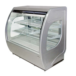 "Fogel USA ELITE-6-PF-G - 72"" Display Case, Refrigerated Bakery, forced-air self-contained, 24.0 cu. ft. capacity"