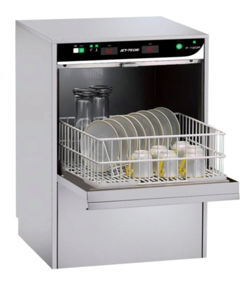 "MVP Group F-16DP - 21"" Glasswasher, High Temp Rack, Undercounter, (24) Racks/hr, 208-240v/60/1-ph"