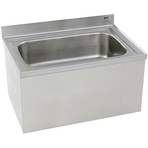 "Eagle Group F2820-12 - Mop Sink, Floor Mount - 28"" x 20"" x 12"" Sink"