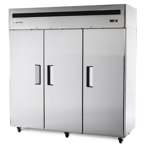 "Saturn FBTM72F - 77.8"" Reach-In Freezer, 3 Section, 3 Solid doors, 69 cu. ft."