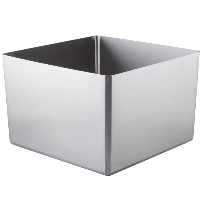 "Eagle Group FNWNF-24-24-12-1 - Weld-In Sink bowl, Oem Fabricated Straight Wall Sink, One Compartment, 304 18/8 Stainless Steel - 24"" x 24"""