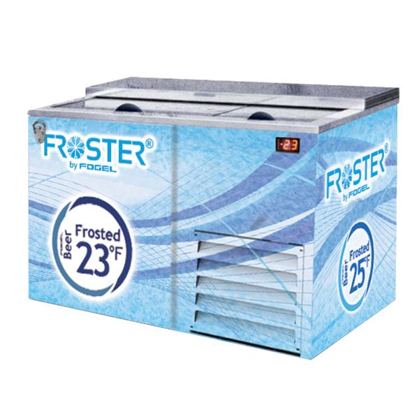 "Fogel USA FROSTER-B-50HCB 56.25"" Two Section Horizontal Beer Froster with (2) Two Solid Sliding Doors, 115v/60/1-ph"