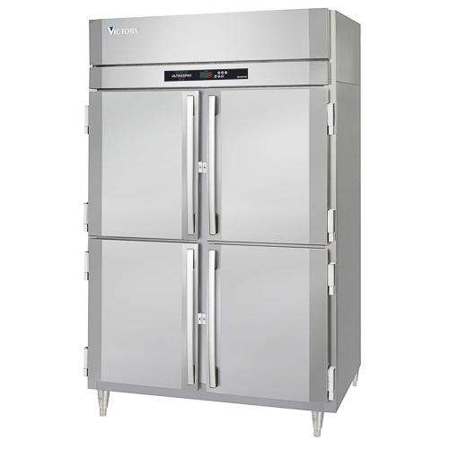 Victory Refrigerator/Freezer RFS-2D-S1-EW-HD UltraSpec Series, 2 Sections, 115V