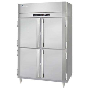 "Victory Refrigerator RSA-2D-S1-HD Two Sections, 4 Doors, 52.13""  Reach-in, 115V"