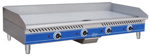 "Globe GEG48 - 48"" Electric Griddle, Countertop, Medium Duty, Thermostatic Controls, 208-240V"