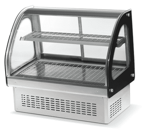 "Anvil (Vollrath owned) HDE-7036 Heated Display 36"" Curve Drop in Display for Commercial Deli Bakery, 110V"