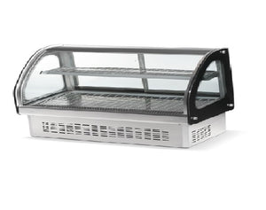 "Vollrath HDE-7160 Heated Display 60"" Curve Drop in Display for Commercial Deli Bakery, 110V"