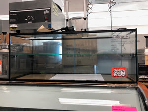 "Hebvest 36"" x 15"" x 14.5"" Glass Display Case with One Middle Shelf"