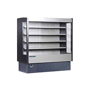 "MVP Group KGH-OF-100-R - 97"" Open Display Merchandiser, (4) Adjustable Shelves, Multiplexible, Remote Refrigeration"