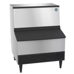 Hoshizaki KM-260BWJ 268 lb Crescent Cube Ice Maker w/ Bin - 100 lb Storage, Water Cooled, 115v