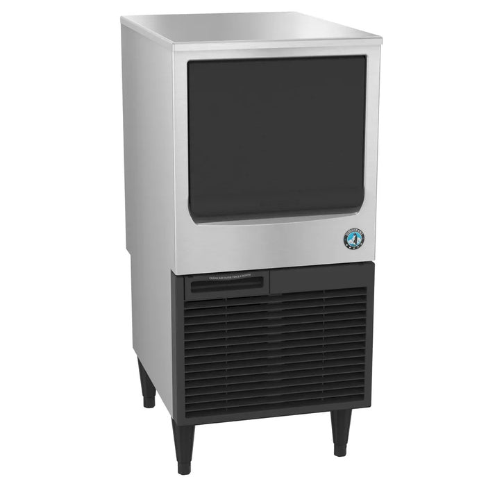 "Hoshizaki KM-61BAH 39""H Crescent Cube Undercounter Ice Maker - 71 lbs/day, Air Cooled, ADA"