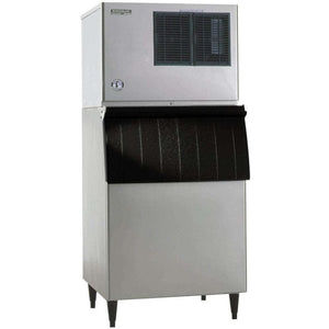 "Hoshizaki KML-500MAJ Ice Machine 30"" Air Cooled, Low Profile, Cube 442 lb/24 hr, 115v"