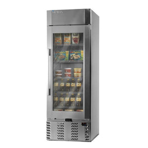 "Victory LSR23-1-G-L - 27.3"" Reach-In Refrigerator, UltraSpec Series, 1 Section, 1 Glass Door, 5 Shelves, 23 Cu.ft., 1/3 HP, 115V"