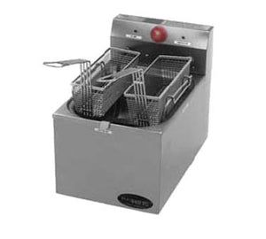 Eagle Group EF10-120 Countertop Electric Fryer - (2) 15 lb Vat,