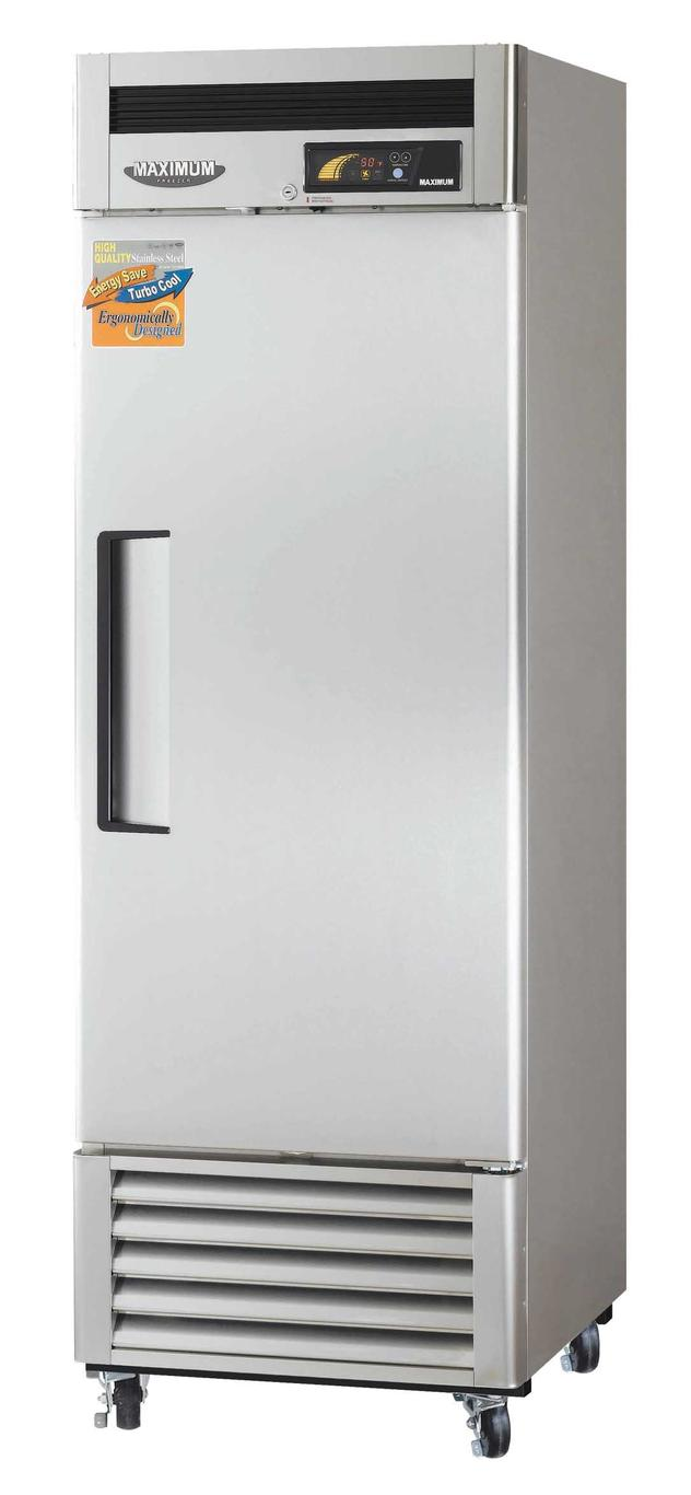 "Turbo Air MSR-23NM 27"" Reach-in Refrigerator,1 Section, 1 Solid Door, 23 Cu.Ft."