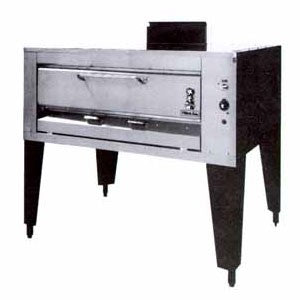 "Montague 13P-1 Gas, Single High Deck Pizza Oven 62"" - 40,000 BTU"