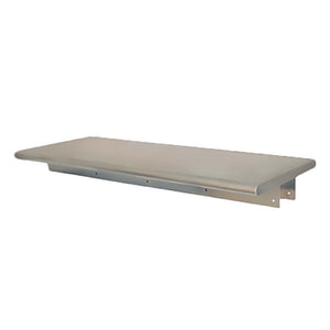 "Eagle Group PTS-1860 - Pass-Thru Shelf, 16/304 Stainless Steel - 60""W x 18""D"