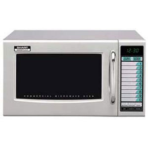 Sharp R-21LVF - Microwave Oven, with Touch Pad, 1000 Watts, 1.0 Cu. Ft. Capacity, 120v/60/1-ph