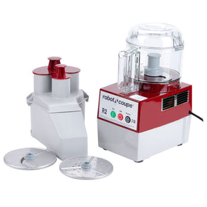 Robot Coupe R2N CLR - Food Processor, Benchtop / Countertop, 1 Speed, Cutter Mixer, 3 qt Clear Bowl, 120v/60/1-ph