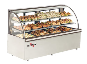 "Skyfood RBC-59 refrigerated bakery case 59"" - curved glass"