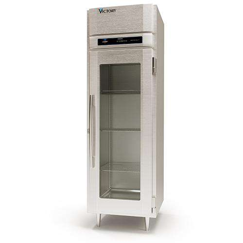 Victory Pass-thru Heated Cabinet HS-1D-1-PT-G, UltraSpec Series, 2 Doors, 115V