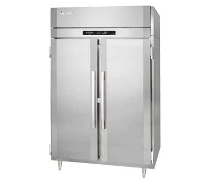 "Victory Warmer/Refrigerator HRSA-2D-S1-EW 58"" UltraSpec Series, Reach in, 2 Section, 115V"