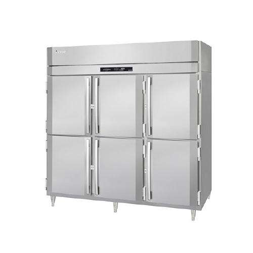 "Victory Refrigerator RSA-3D-S1 - 78"" Reach-In Refrigerator, 3 Section, 3 Door, 70.1 Cu. Ft. Capacity, 115V"