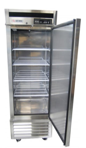 "Saturn S23R  27"" Reach-In Refrigerator, 1-Section, 1-Solid Door, Bottom mount, 20 cu. ft."