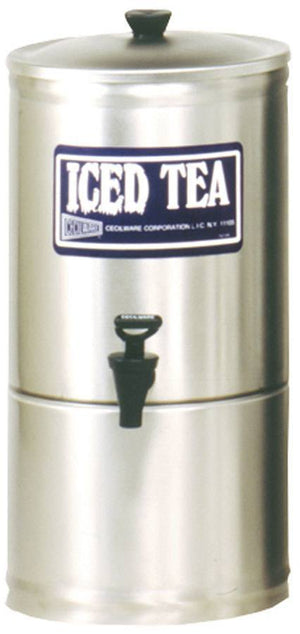 "Cecilware S3 - Iced Tea Dispenser, 3 Gallon, Portable, No-Drip Faucet, 7"" Faucet Clearance"