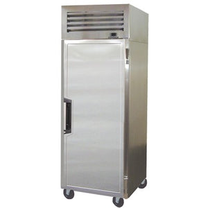 "Howard McCray SAV-20-T 28"" One Section Reach In Refrigerator, Top Mounted Self-Contained Refrigeration with (1) Left Hinge Solid Door"