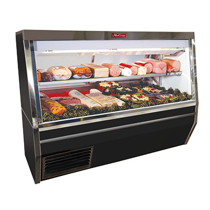 "Howard-McCray SC-CDS34N-8-BE-LED - 96"" Display Case, Deli Meats & Cheeses, Double Duty, Stand Alone Design"