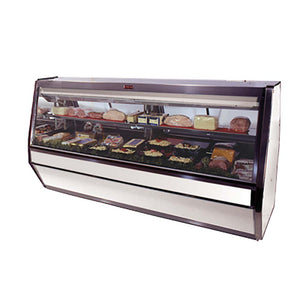 "Howard-McCray SC-CDS40E-6-S-LED 76.5"" Display Case, Deli Meats & Cheeses, Self-Contained Refrigeration, Straight Glass"