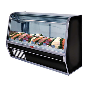"Howard-McCray SC-CFS32E-4C-BE-LED - 50"" Display Case, Fish & Poultry, Self-contained, Single Duty, Endless Design"