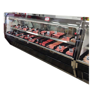 "Howard-McCray SC-CMS40E-4-BE - 52.5"" Display Case, Red Meat, single duty, self-contained refrigeration"