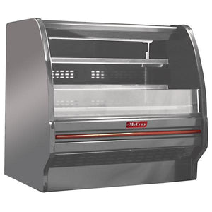 "Howard-McCray SC-OD40E-4L-LED-S - 51"" Open Display Merchandiser, self-contained, endless design"