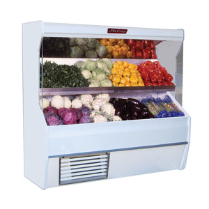 "Howard-McCray SC-P32E-4S - 50"" Display Case, Open Produce, White, Self-Contained Refrigeration"