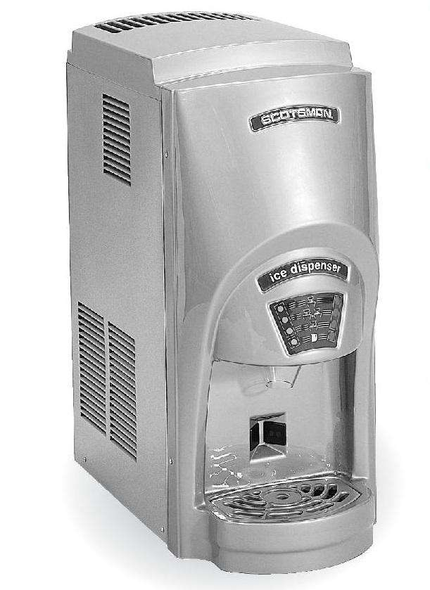 Scotsman® MDT2C12A-1A Touchfree™ Countertop Cube Ice Maker and Dispenser 273lb Ice Machine