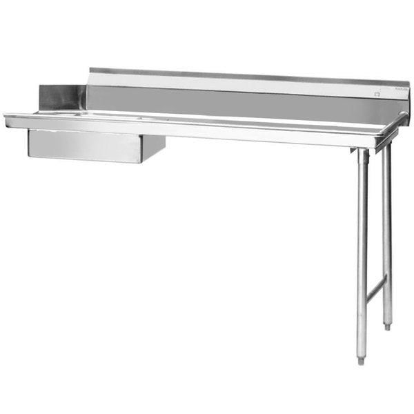 "Eagle Group SDTR-48-16/3 - 48"" Soiled Dishtable, right-to-left operation, Stainless Steel"