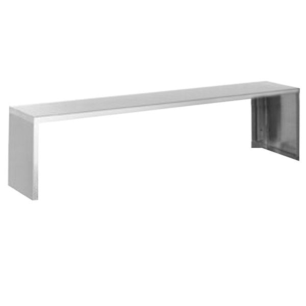Eagle Group SS-HT5 - Overshelf, 18 Gauge Stainless Steel, Serving Shelf