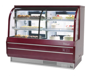 "Turbo Air TCGB-60CO-W(B)-N - 60.5"" Bakery Case, combi dry & refrigerated"