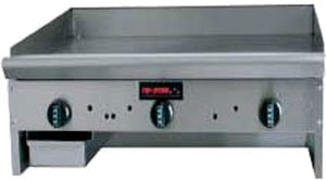 "Tri-Star TSMG-24-34L Tri-Star Mfg.- Heavy Duty 24"" Countertop Griddle"