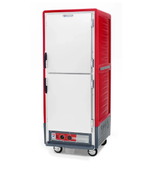 Metro C539-CDS-U Full Height Insulated Mobile Heated Cabinet w/ (18) Pan Capacity, 120v