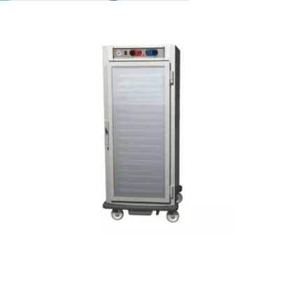 Metro C597-NFC-U 3/4 Height Insulated Mobile Heated Cabinet w/ (13) Pan Capacity, 120v