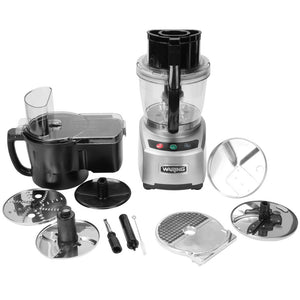 Waring WFP16SCD - Food Processor, Benchtop / Countertop, 4 qt. Batch Bowl & Feed Operation, 120V/60/1-ph