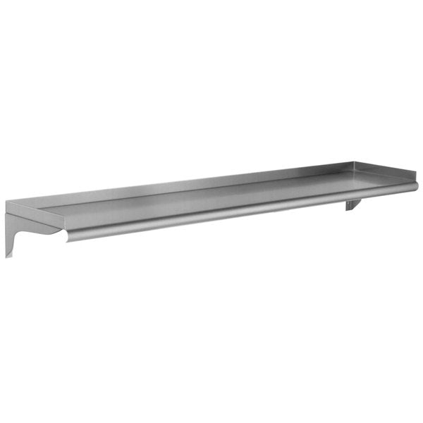 "Eagle Group WS1048-16/3 - Shelving, Wall Mounted, 16/304 Stainless Steel, 48""W X 10""D"
