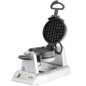 Waring WW200 - Double Classic Belgian Waffle Maker, Heavy Duty Die Cast Housing, 1.4kW -  120v/60/1-ph